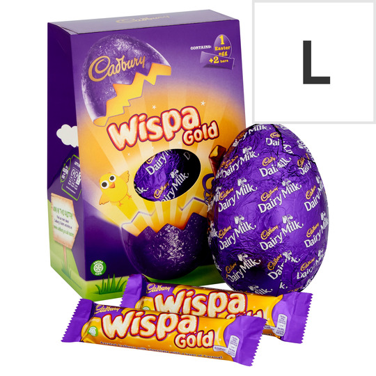 Cadbury Wispa Gold Chocolate Egg 276G