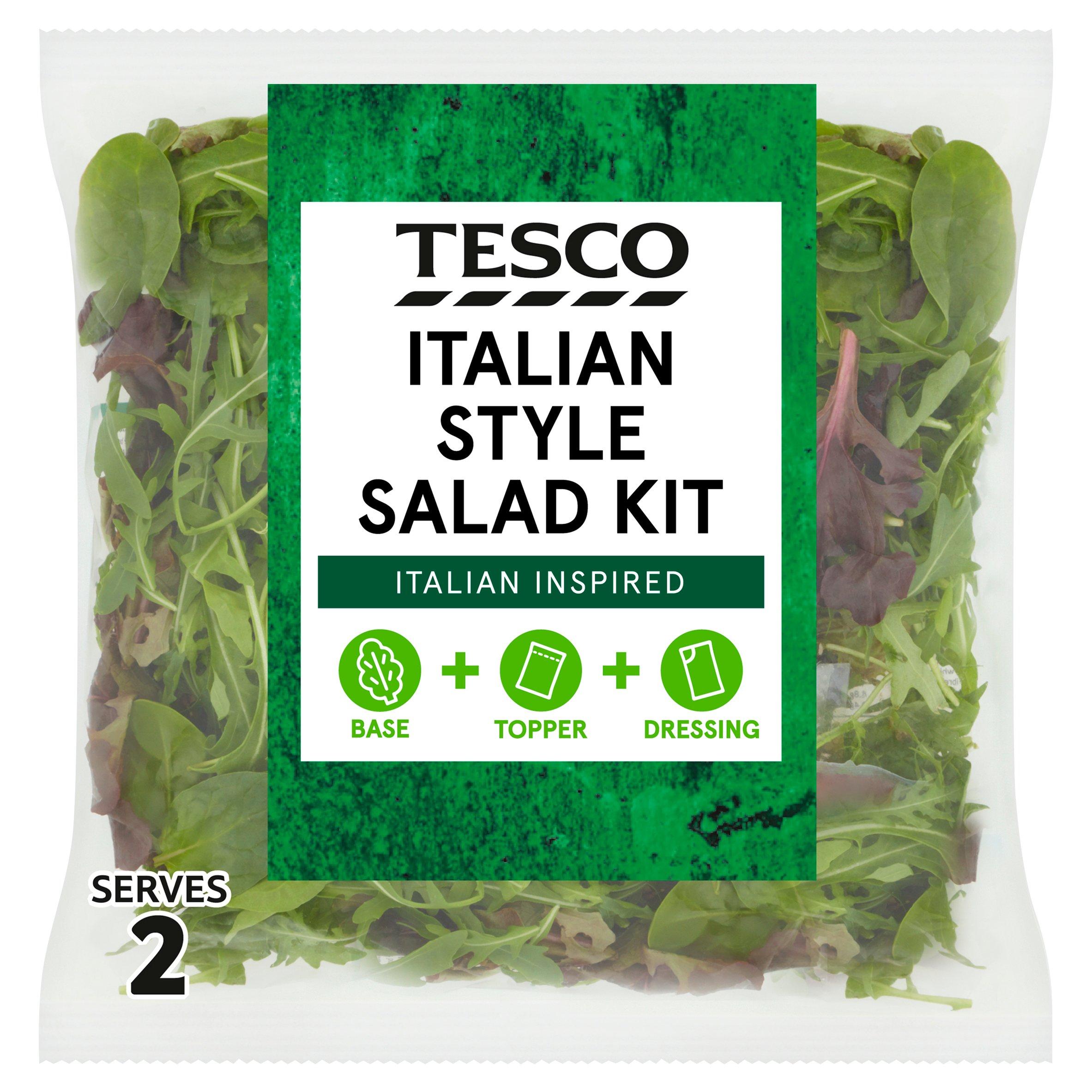 Tesco Italian Style Salad Kit 145G