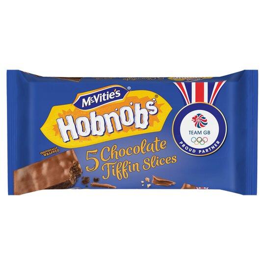 Mcvities Hobnobs Chocolate Slices 5 Pack 128.6G
