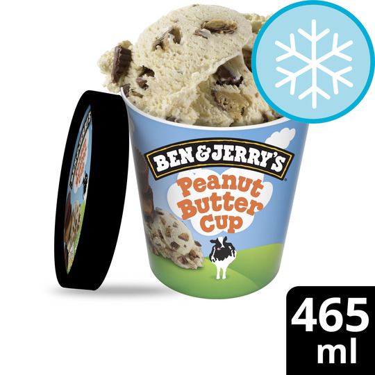 image 1 of Ben & Jerry's Peanut Butter Cup Ice Cream 465Ml