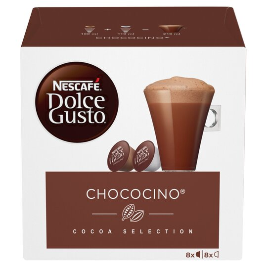 Nescafe Dolce Gusto Chococino Pods 16 Capsules