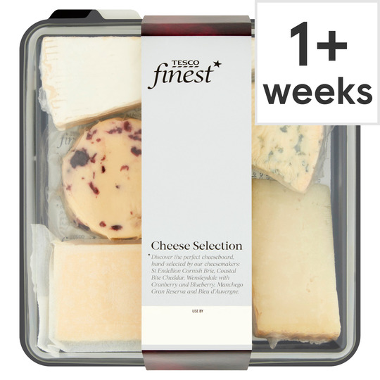 Tesco Finest Cheese Selection 480G