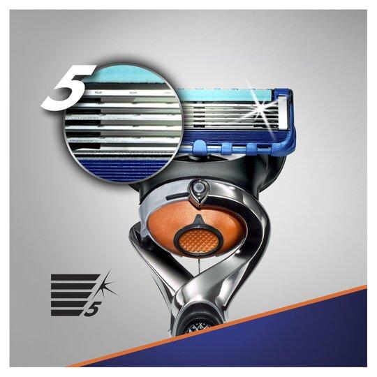 Gillette Fusion Proglide Razor Plus 9 Blades Tesco Groceries