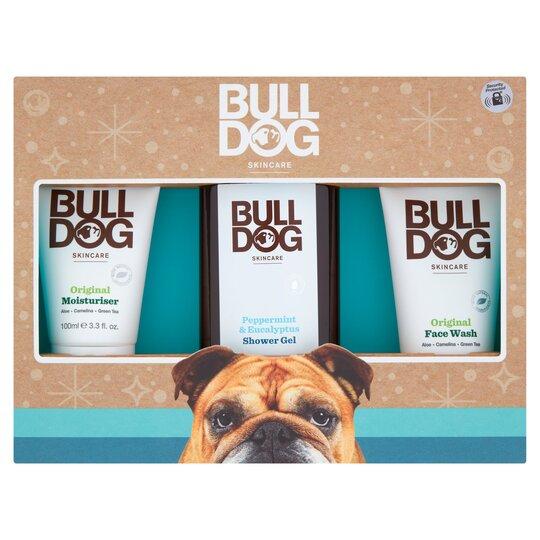 Bulldog Trio Peppermint & Eucalyptus Body Care Kit