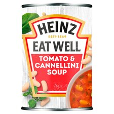 image 1 of Heinz Tomato & Cannellini Bean Soup 400G