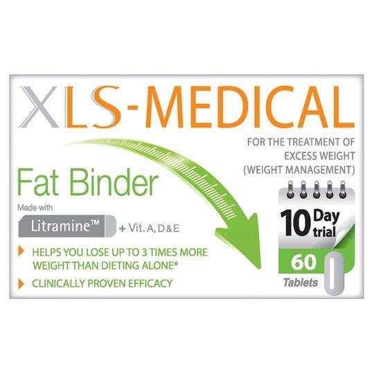 Xls Medical Fat Binder 60Each