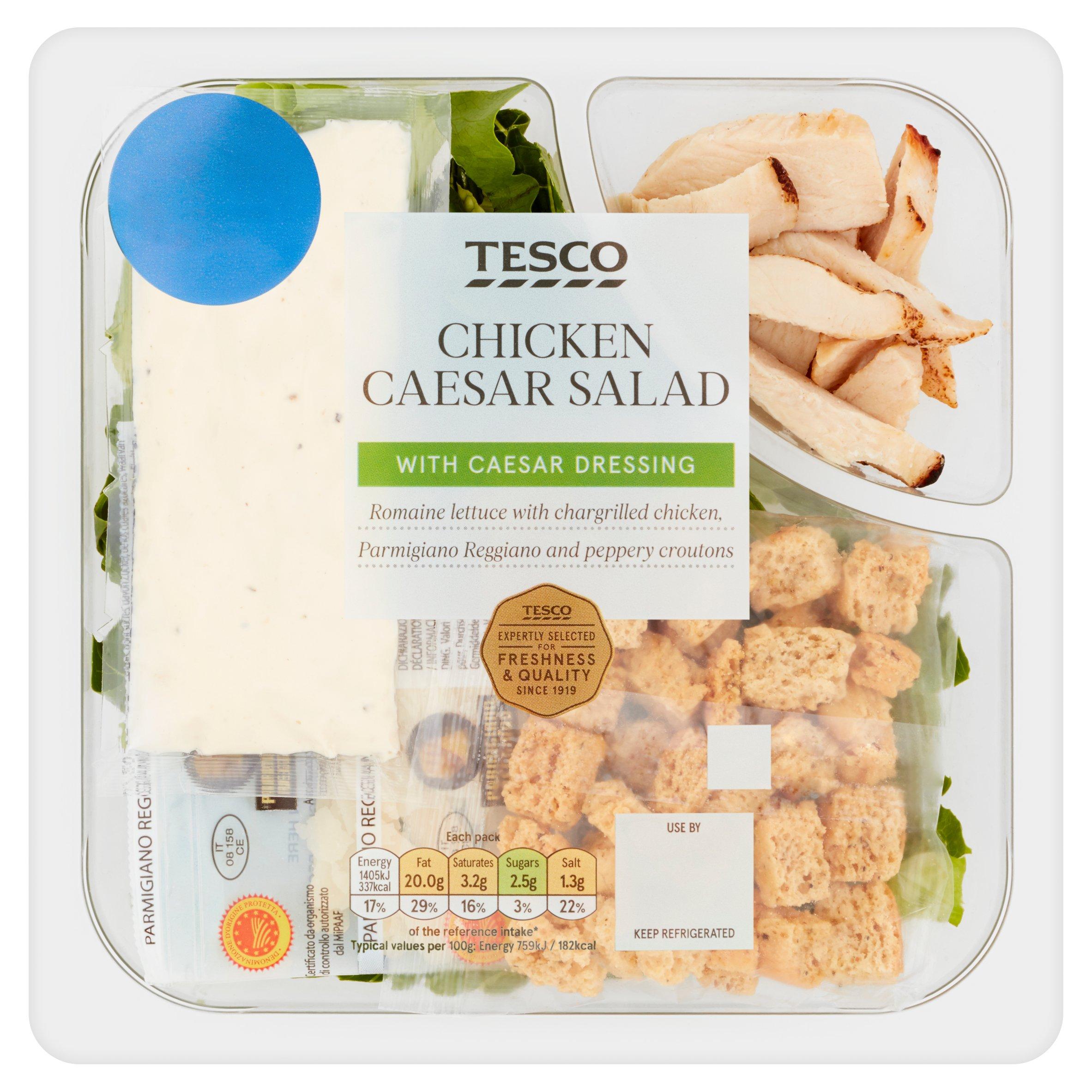 Tesco Chicken Caesar Salad 185G
