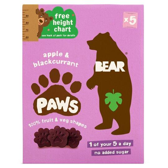 Bear Fruit Paws Jungle 5 X 20 G