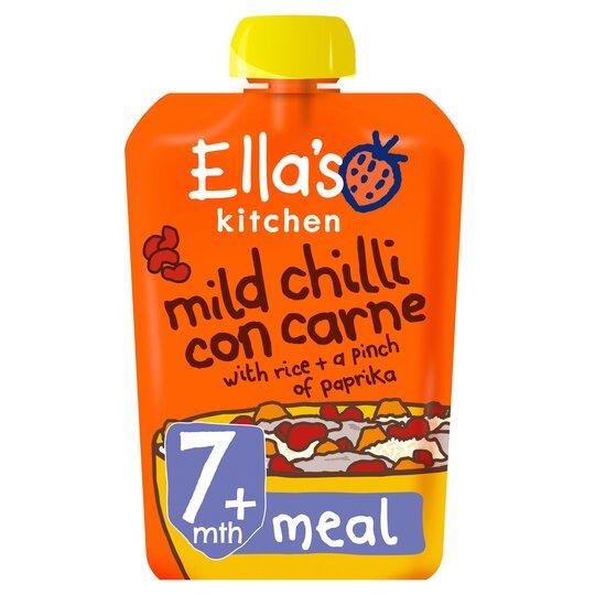 Ella's Kitchen Mild Chilli Con Carne 130G