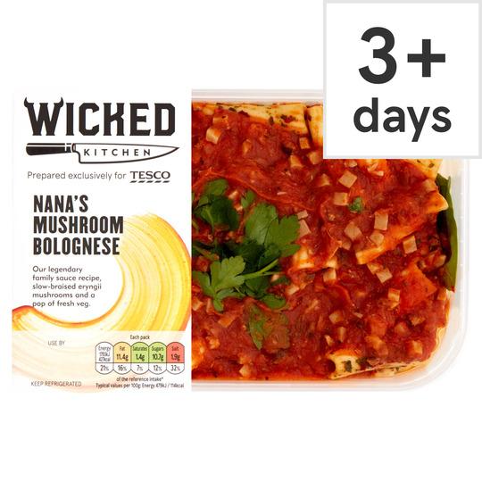Wicked Kitchen Nana's Mushroom Bolognese 400G