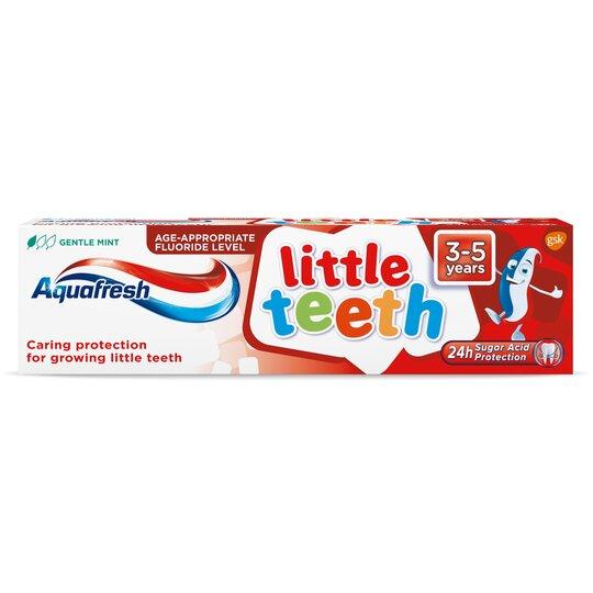 image 1 of Aquafresh Little Teeth 3-5 Years Tooth Paste 75Ml