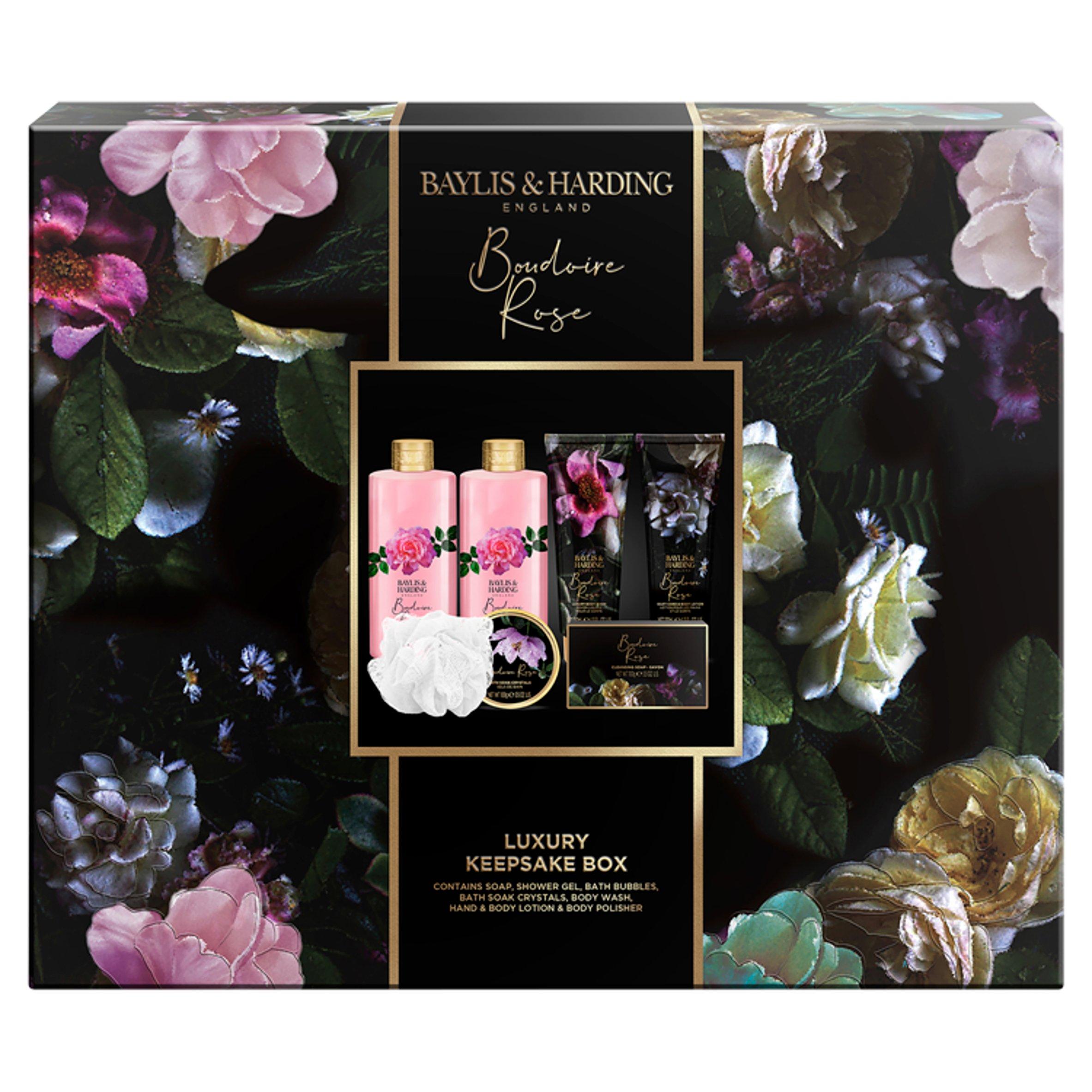 Baylis & Harding Boudoire Rose Keep Sake Box