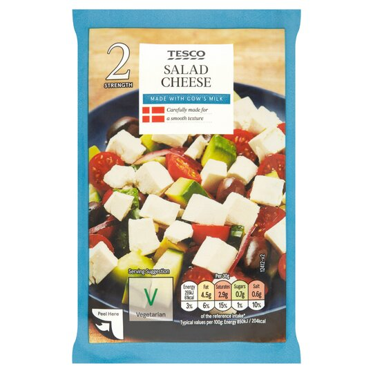 Tesco Salad Cheese 200G .