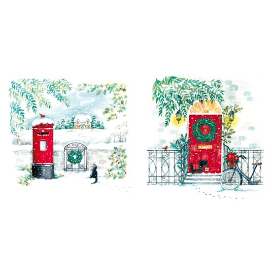 Tesco Postbox & Door Cards 10 Pack