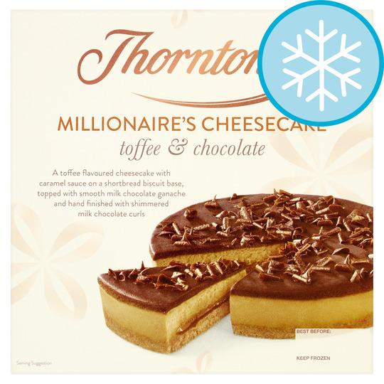 Thorntons Millionaires Cheesecake 565G