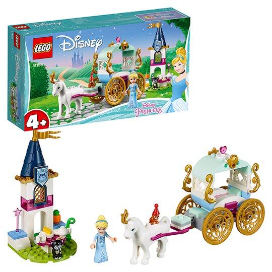 image 1 of LEGO Disney Princess Cinderella's Carriage Ride Disney Toy 41159