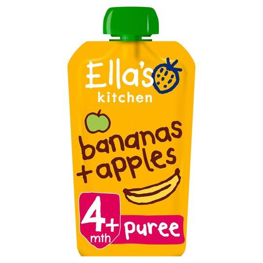 Ella's Kitchen Apples Plus Bananas 120G