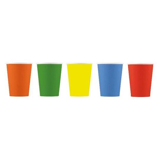 Tesco Multi Paper Cup 8Pk