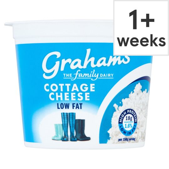 Graham's Natural Cottage Cheese Low Fat 300G