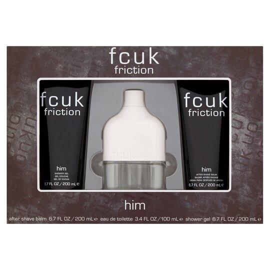 Fcuk Friction For Him 100Ml Eau De Toilette Gift Set