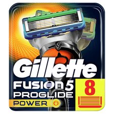 image 1 of Gillette Fusion Proglide Power Razor Blades 8 Pack