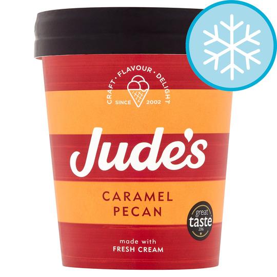 image 1 of Jude's Caramel Pecan Ice Cream 460Ml