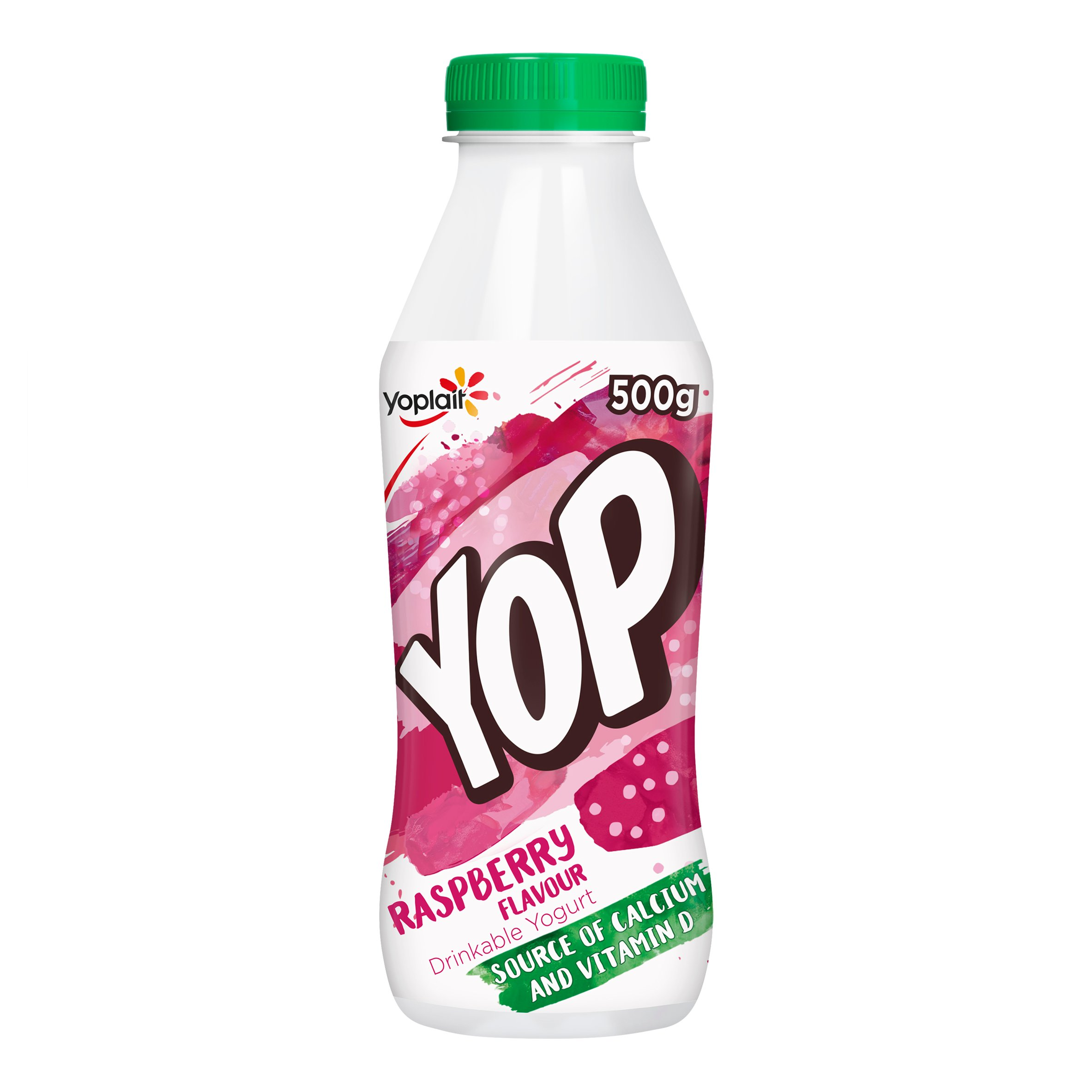 Yop Drinking Yogurt Raspberry 500G