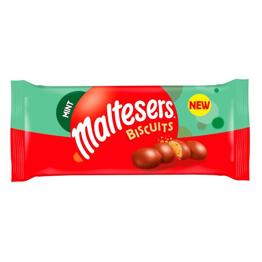 Maltesers Mint Biscuits 110G