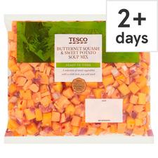 Tesco Butternut Squash Sweet Potato Soup Mix 600g