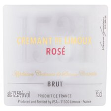 image 2 of Tesco Finest Cremant De Limoux Rose Sparkling 75Cl