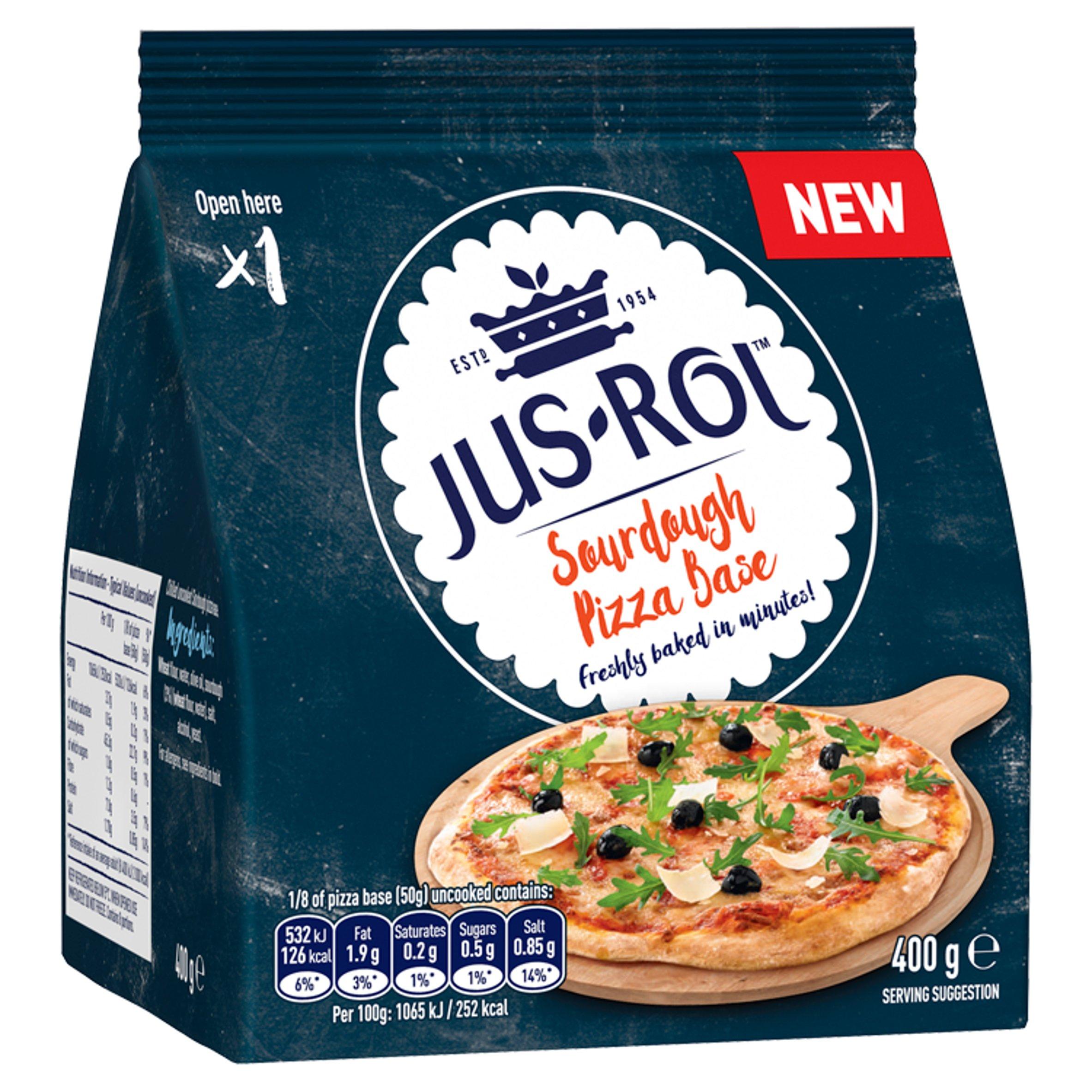 Jus-Rol Sourdough Pizza Base 400G
