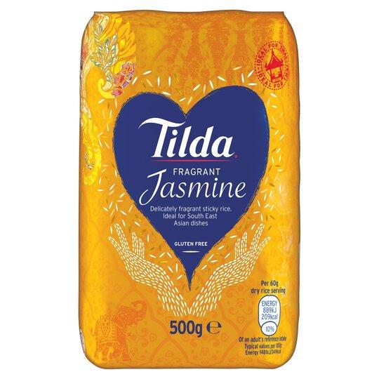 Tilda Thai Jasmine Rice 500G