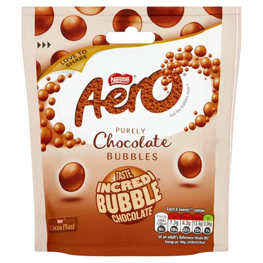 Aero Bubbles Milk Pouch Bag 102G