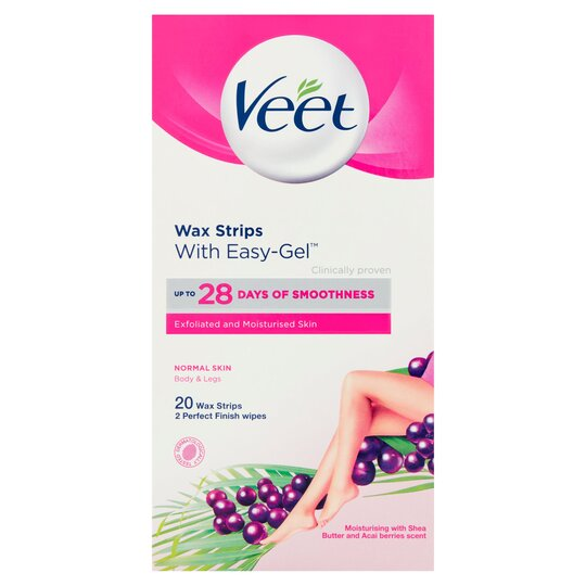 image 1 of Veet Ready To Use Wax Strips Normal 20'S