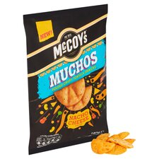 image 2 of Mccoy's Muchos Nacho Cheese Tortilla 180G