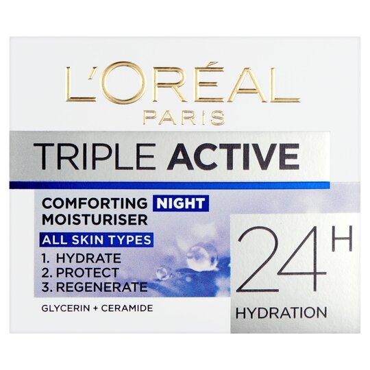 image 1 of L'oreal Paris Triple Active Night Cream 50Ml