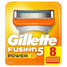 image 1 of Gillette Fusion Power Razor Blades Refill 8 Pack