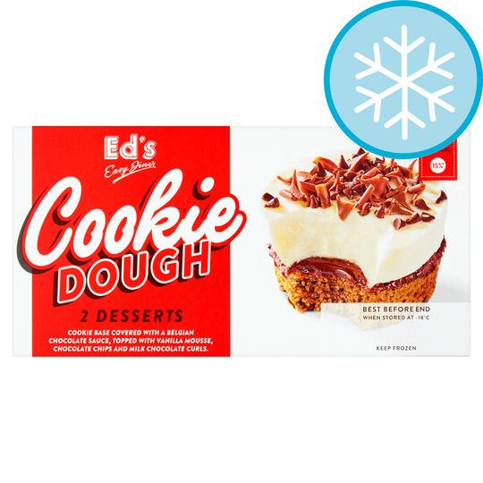 Ed's Diner Cookie Dough Dessert 200g