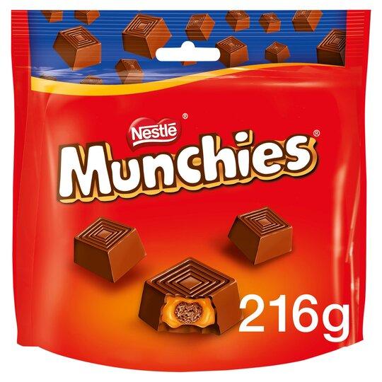 Munchies Milk Chocolate Share Bag 216G
