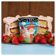 image 3 of Ben & Jerry's Birthday Cake Vanilla Ice Cream 465Ml