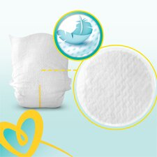 image 4 of Pampers New Baby Size 3 Jumbo Pack 66 Nappies