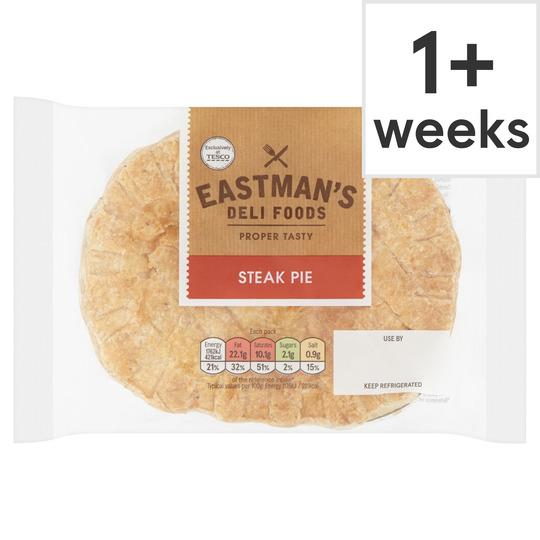 Eastmans Steak Pie 150G - Tesco Groceries