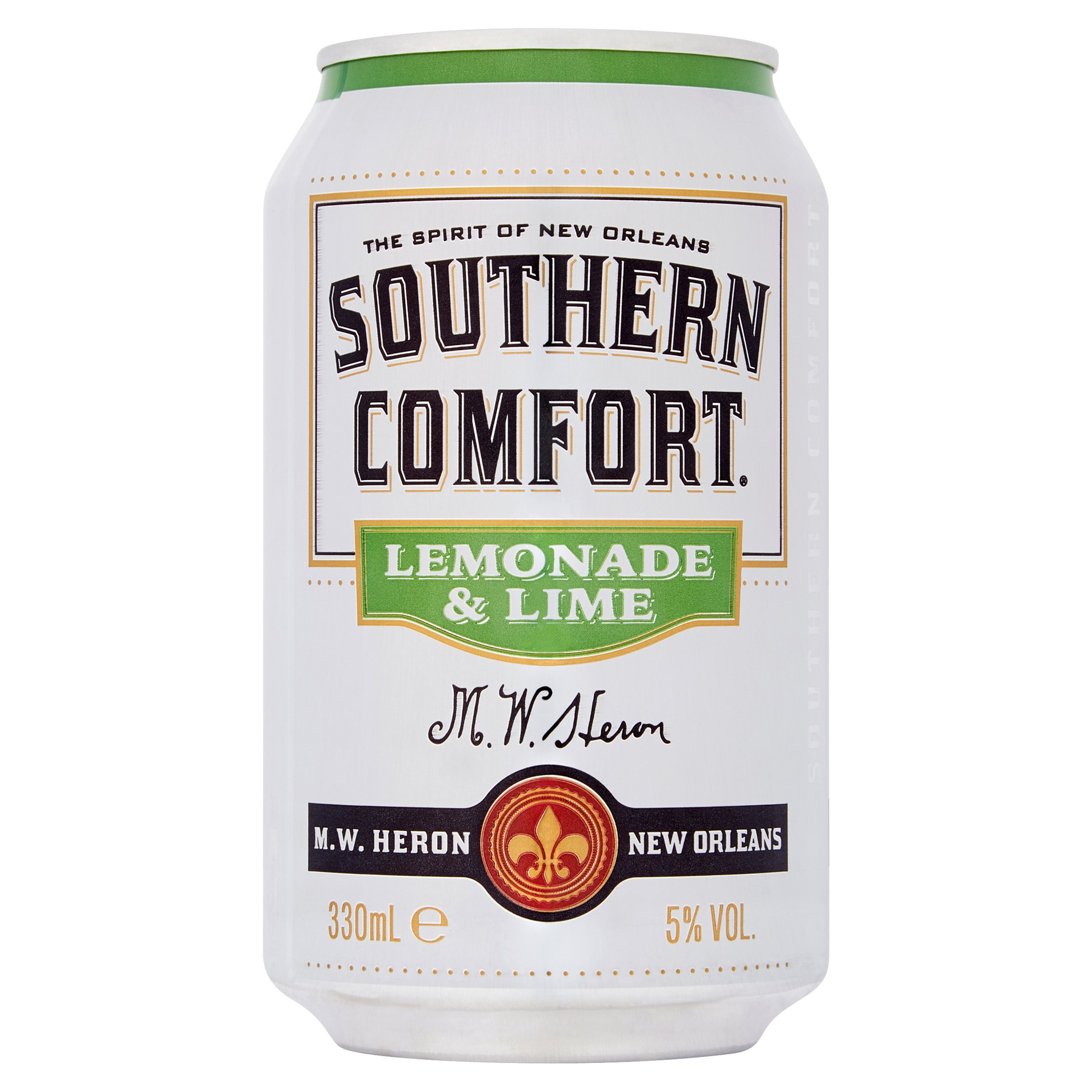 Southern Comfort Lemonade & Lime Can 330Ml