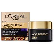 image 2 of L'oreal Paris Age Perfect Cell Renew Night Cream 50Ml