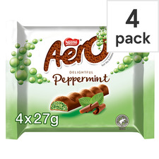 image 1 of Nestle Aero Peppermint 4 Pack 108G