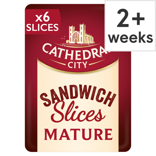 Cathedral City Matured Sliced 150G