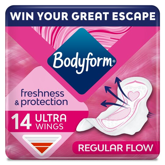 Bodyform Ultra Normal Wing Sanitary Towels 14 Pack
