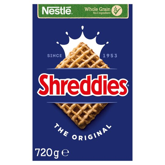 Nestle Shreddies Original Cereal 720G