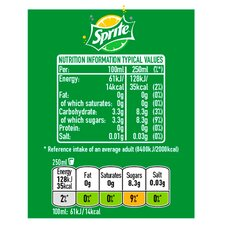 Sprite Regular 500ml Tesco Groceries