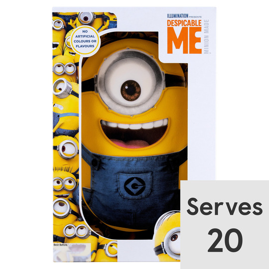 Groovy Despicable Me Celebration Cake Tesco Groceries Funny Birthday Cards Online Aeocydamsfinfo